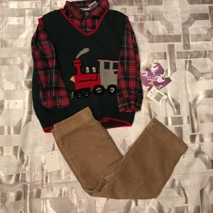 Other - Little Boy Christmas Outfit